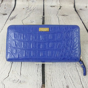 AUTHENTIC KATE SPADE Accordion Zip Wallet in Blue